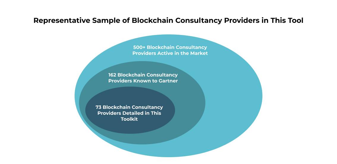 Representative Sample of Blockchain Consultancy Providers in This Tool
